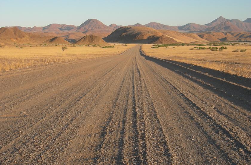 En route pour le Damaraland, Namibie