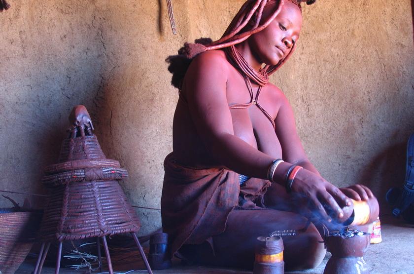 Femme Himba, Namibie, Kaokoland