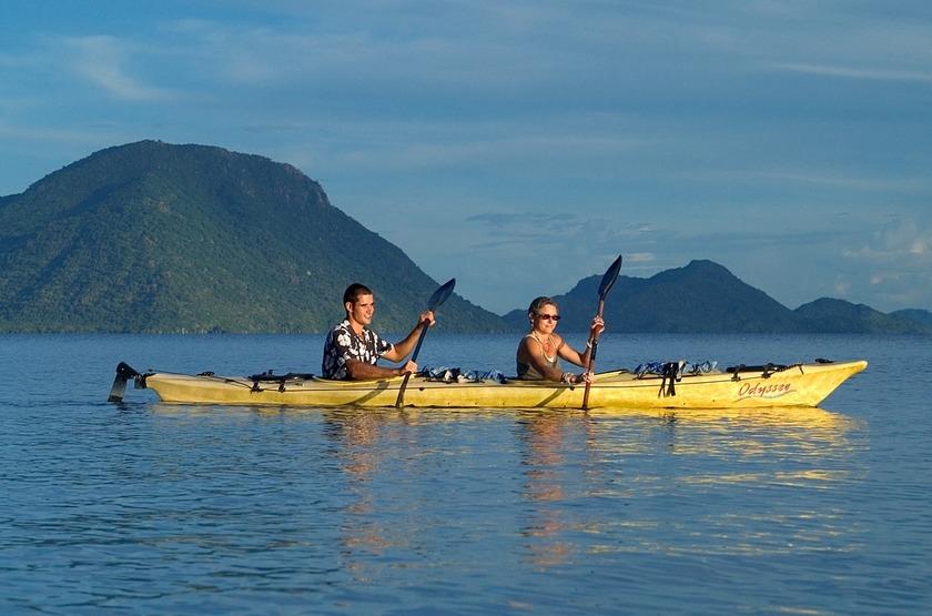 Kaya sur le lac Malawi