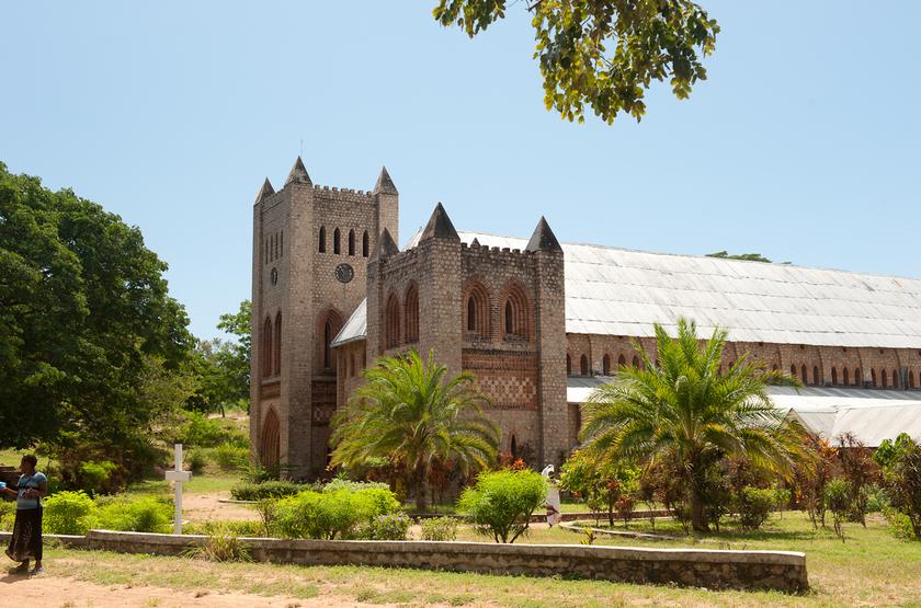 Cathédrale à Likoma, Malawi