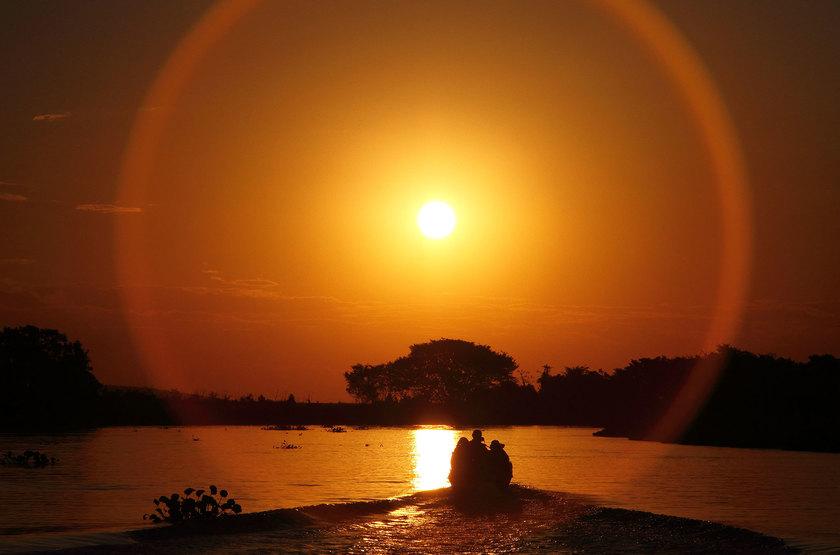 Sunset slideshow