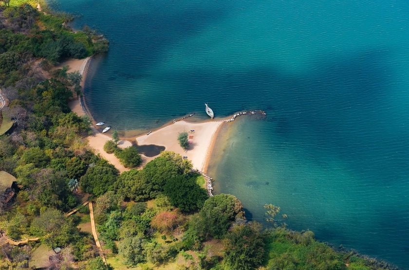 Plage du lac Malawi, Pulawani Lodge