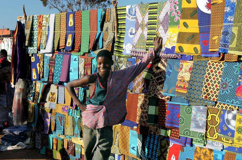 Marché local, Lilongwe, Malawi