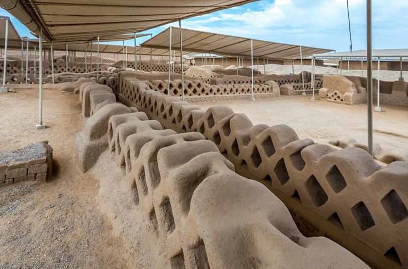 Site archéologique de Chanchan, Pérou