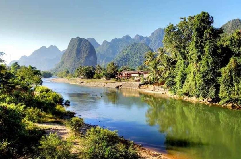 Fleuve Nam Song, Laos
