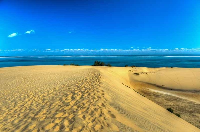 Séjour sur l'île Bazaruto, Mozambique