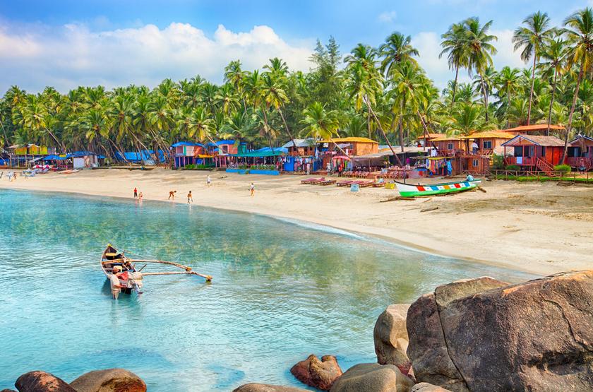 Plage de Goa, Inde