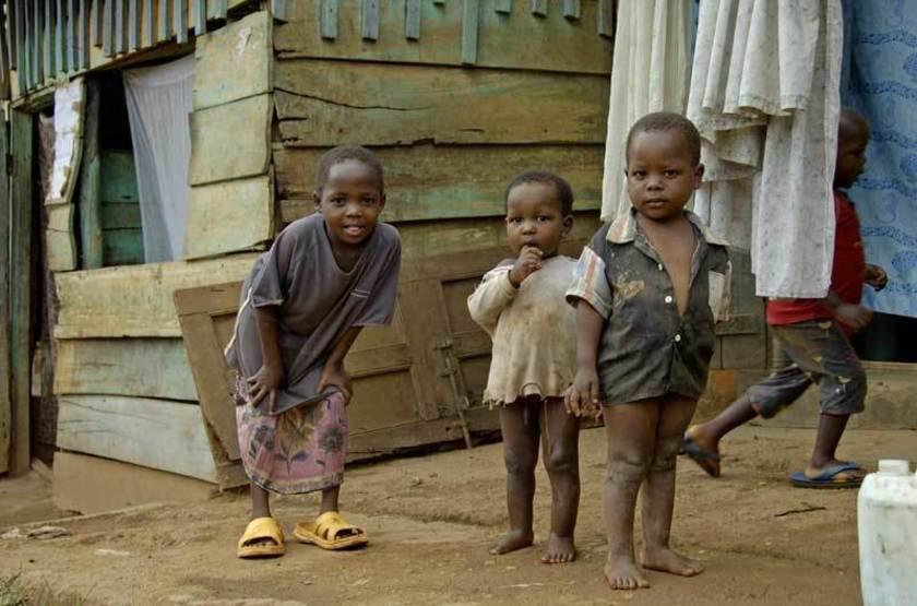 Enfants à Kampala, Ouganda
