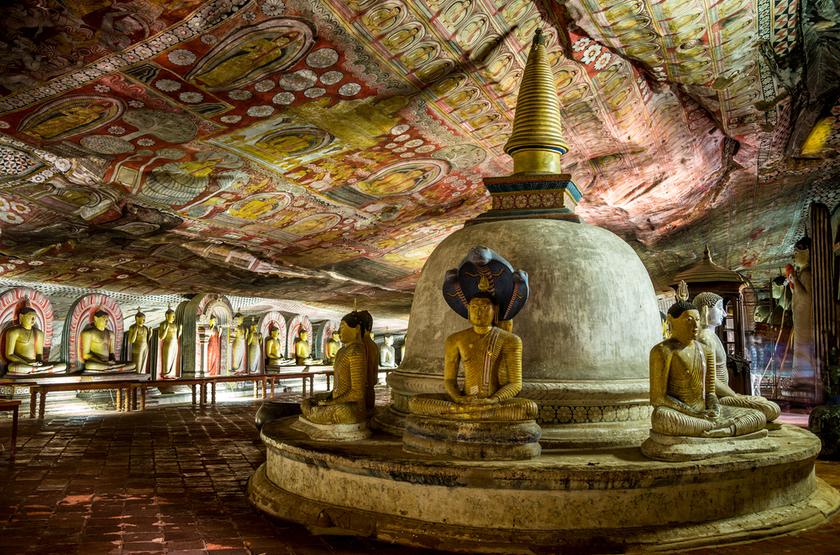 Caves de Dambulla, Sri Lanka