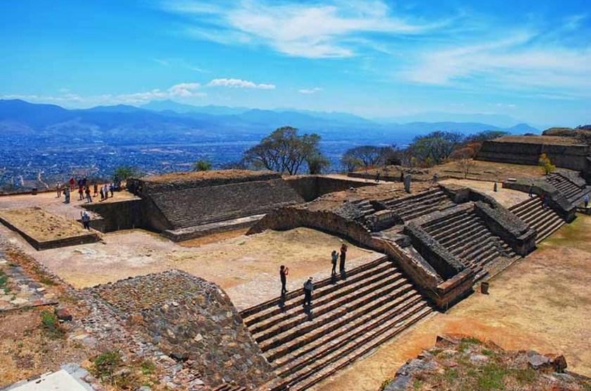 Ruines archéologiques de Monte Alban, Mexique