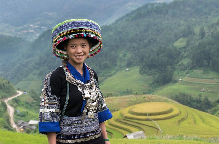 Femme Mong, Sapa, Vietnam