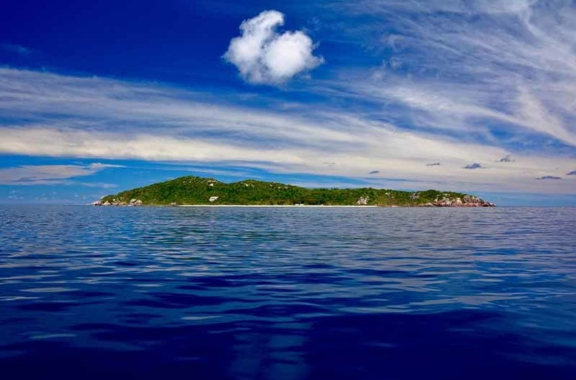 """Île Aride dite """"île aux oiseaux"""", Seychelles"""
