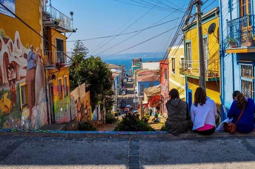 rue de Valparaiso, Chili