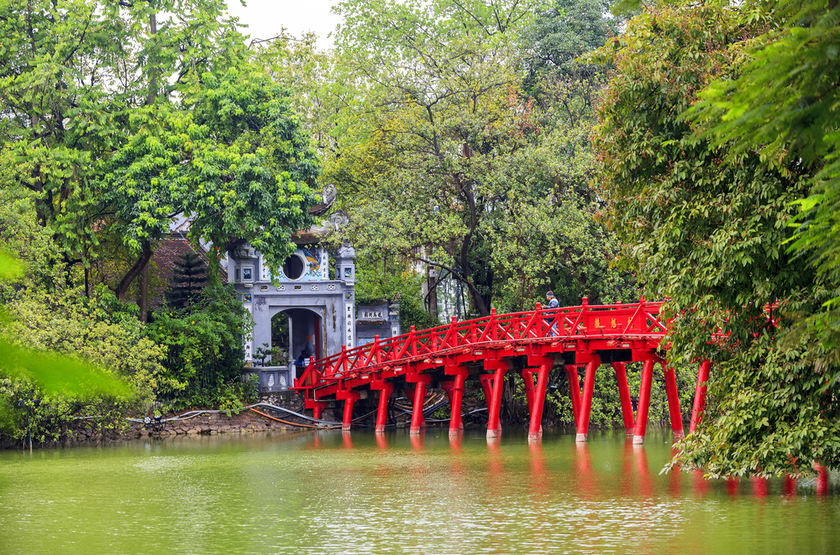 Lad Hoan Kiem, Hanoi, Vietnam