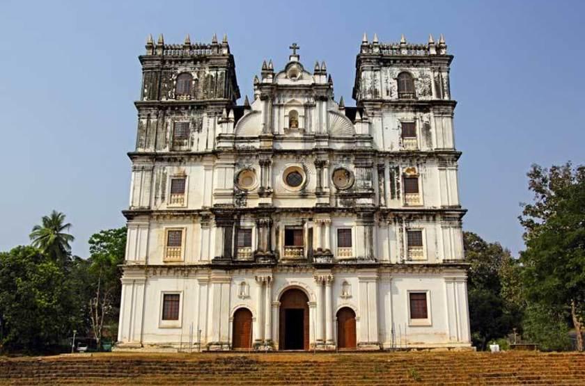 Eglise Sainte Anne, Goa, Inde
