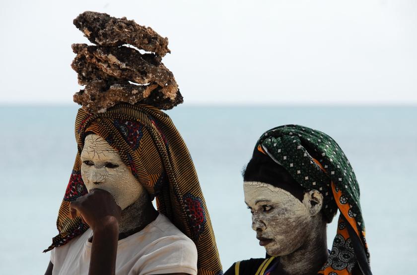 Femmes Makua, Pagane, Mozambique