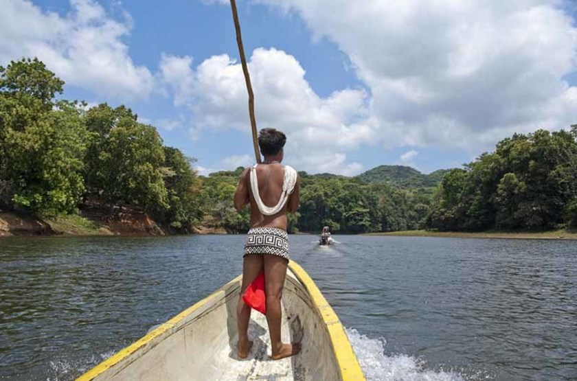 Indigène Embera, Panama