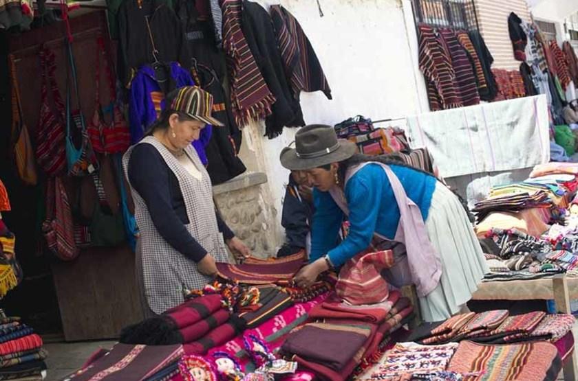 Marché de Tarabuco, Bolivie