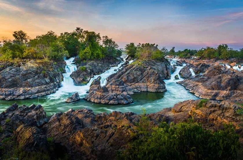 Iles de Champasak, Laos