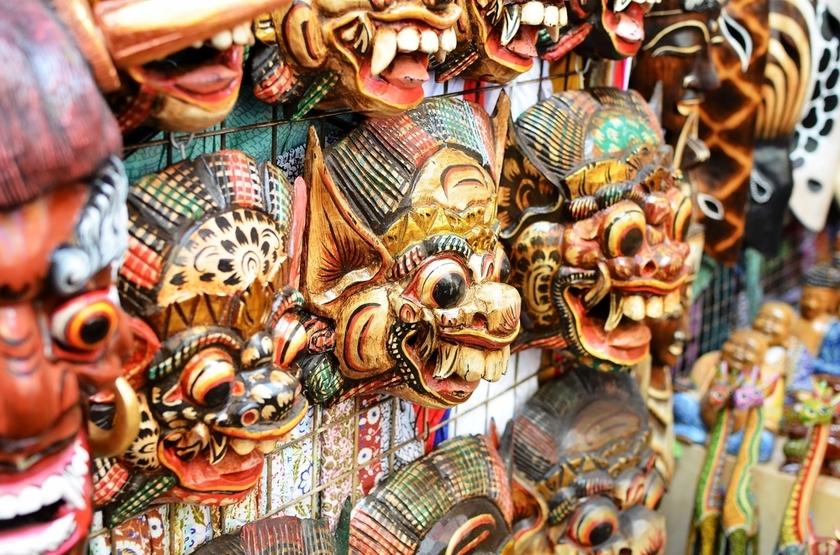 Marché d'Ubud, Bali, Indonesie