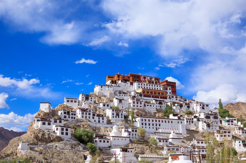 Gompa Thiksey, Leh, Ladakh, Inde