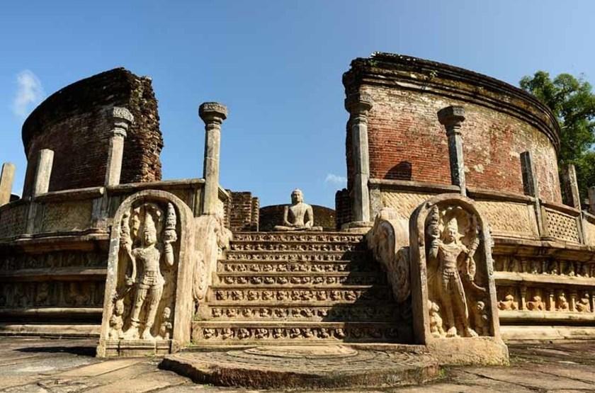 Maison ronde Vatadage, Polonnaruwa