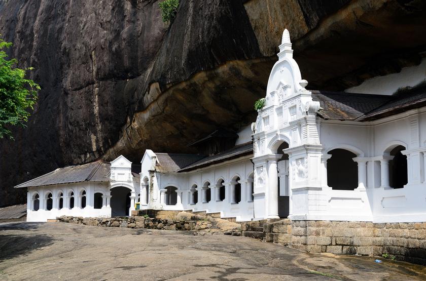 Temple à Dambulla, Sri Lanka
