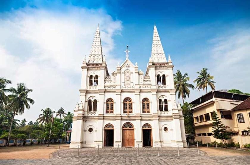 La Basilique Santa Cruz, Cochin, Kerala, Inde