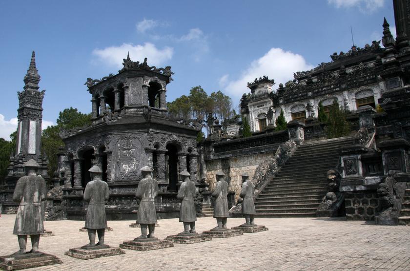 Thien Dinh Palace, Hue, Vietnam