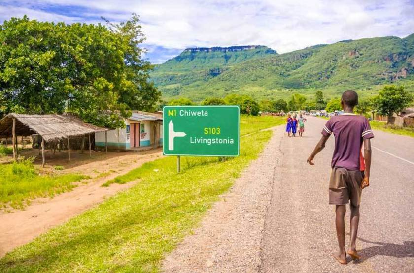 Route de village, Malawi
