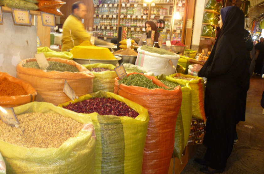 Bazar Ispahan, Iran