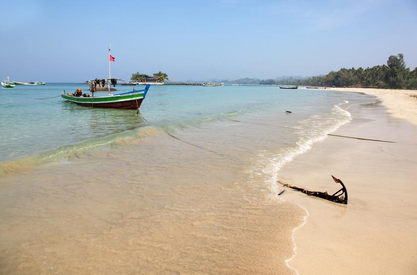 plage de Ngapali, Myanmar, Birmanie