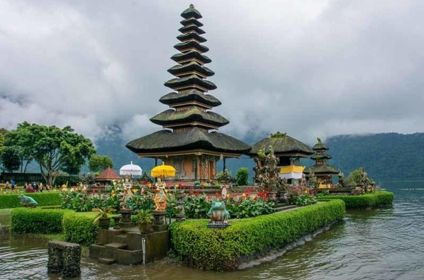 Temple d'Ulun Danu, Indonésie