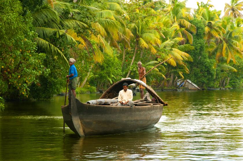 Voyage au Kerala, Alleppey, Inde