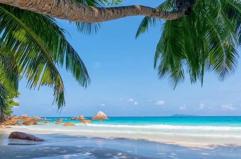 Anse Lazio de l'île Praslin, Seychelles