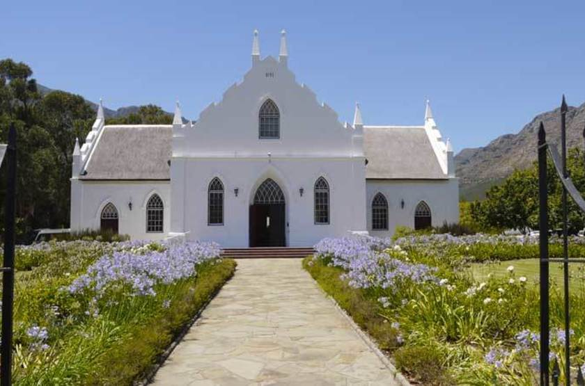 Eglise de Franschhoek, Afrique du Sud