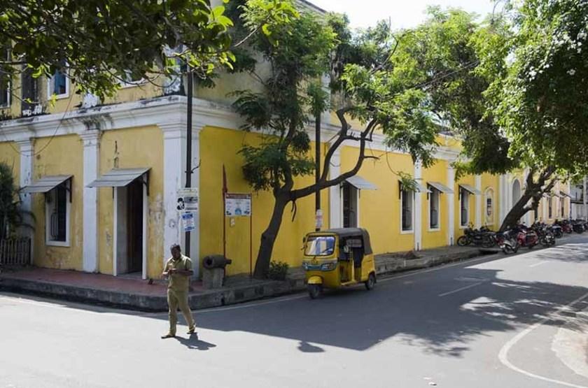 Quartier Colonial, Pondichéry, Inde