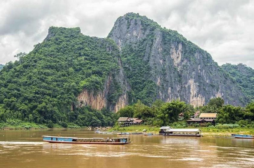Croisière sur le fleuve Mekong, Laos