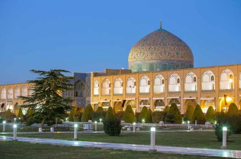 Mosquee Cheikh Lotfallah, Ispahan, Iran