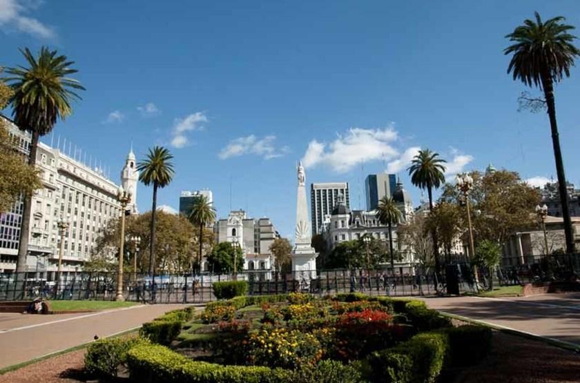Place de Mai, Buenos, Aires, Argentine