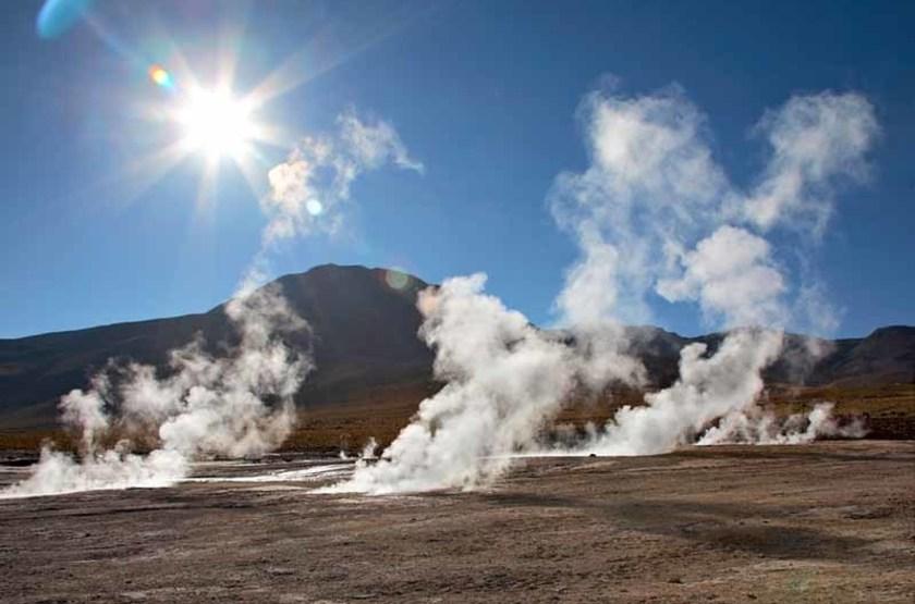 Geyser du désert d'Atacama, Chili