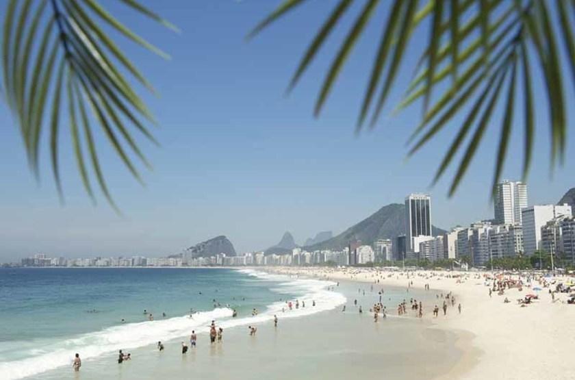 Plage de Pocacabana, Rio, Brazil