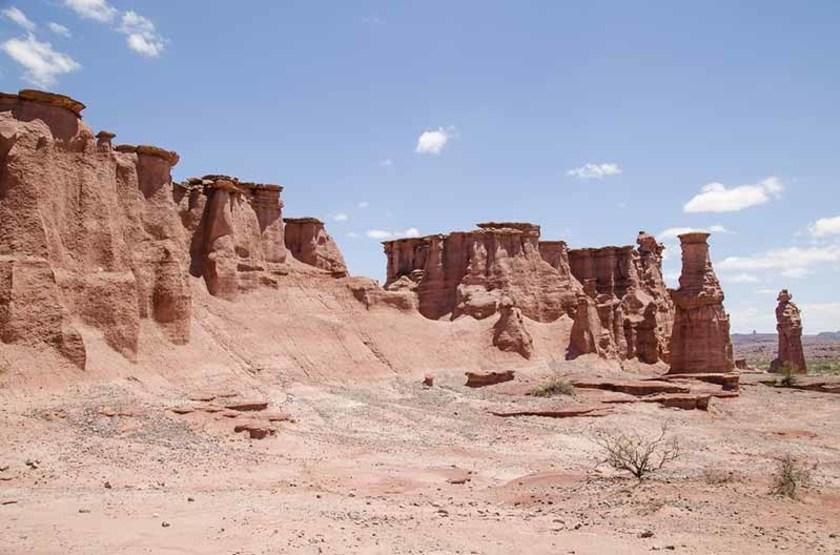 Formations rocheuses du Parc Provincial Ischigualasto, Argentine