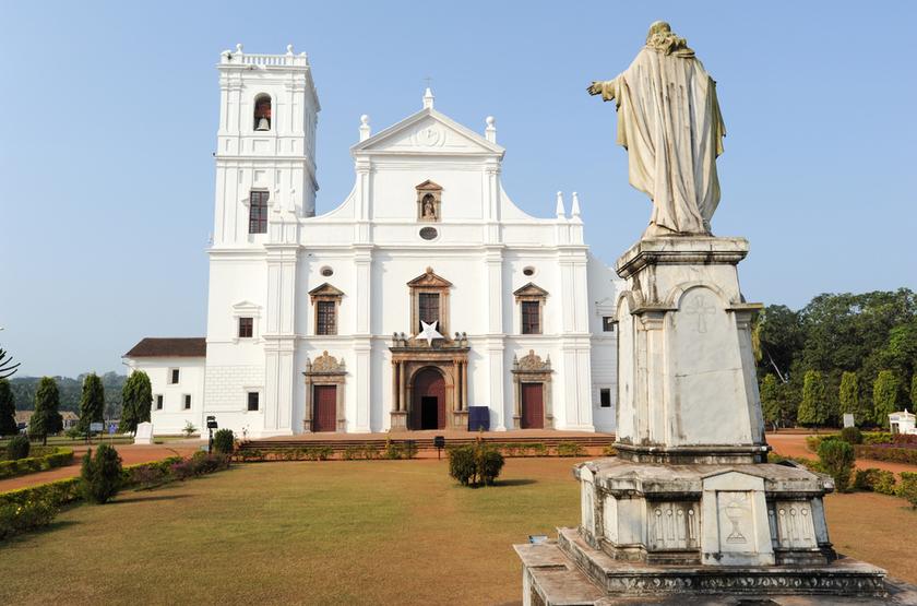 Cathédrale de Goa, Inde
