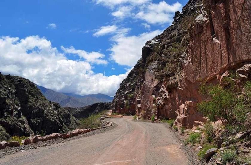 Route 40 à Cuesta de Miranda, Argentine