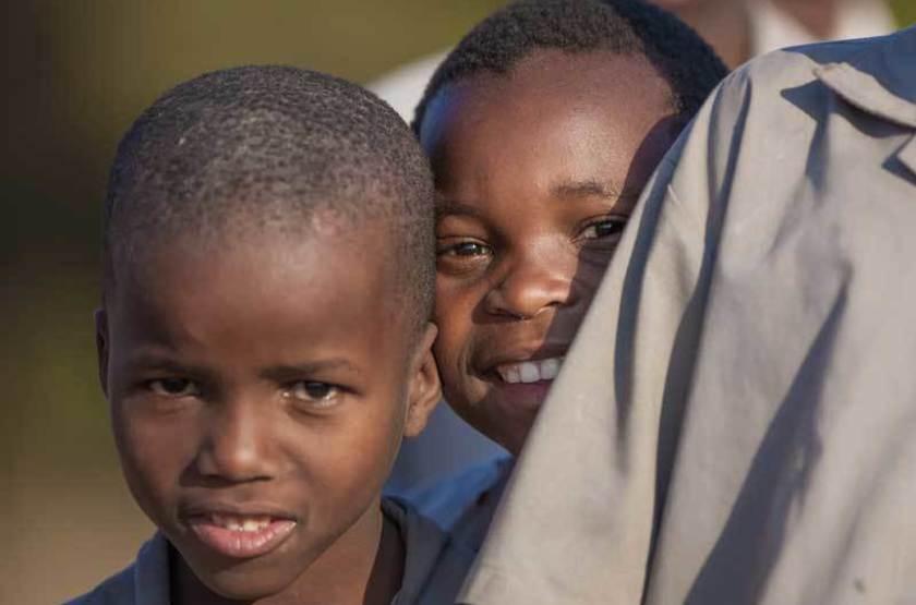 Enfants au Swaziland