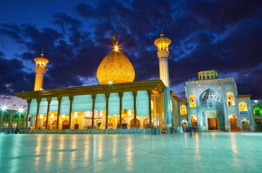 Mosquée Shah Cheragh, Chiraz, iran