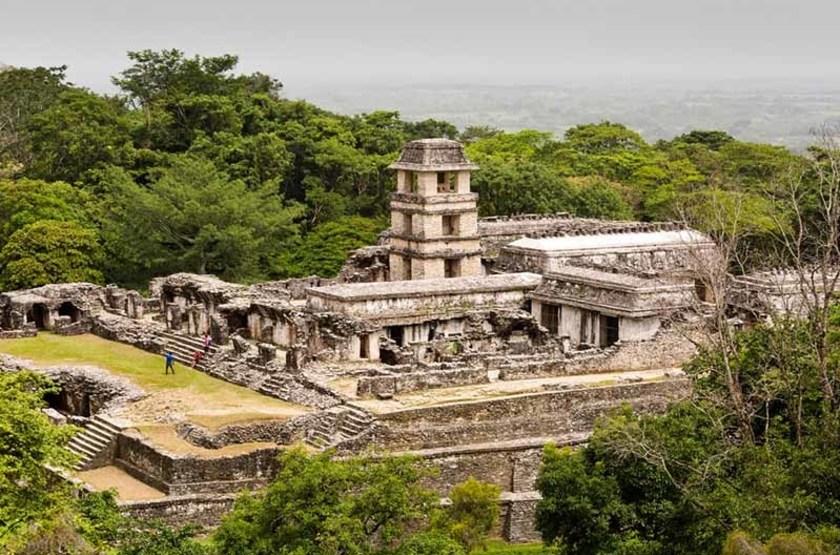 ruines à Chiapas, Mexique