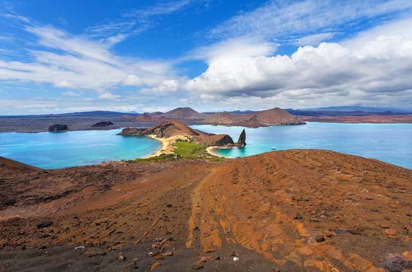 Île Bartolome, Îles Galapagos