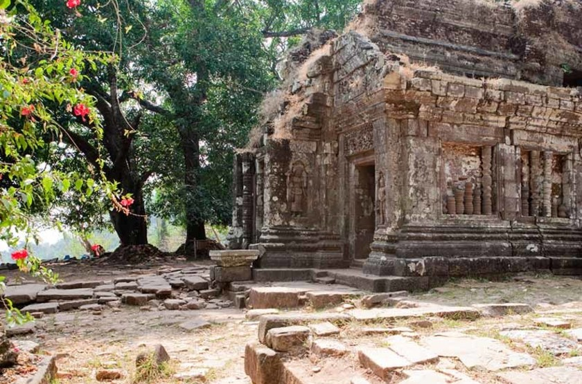 Temple Khmer Vat Phou, Laos